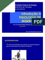 Aula 2 - Fisiologia de Menbranas