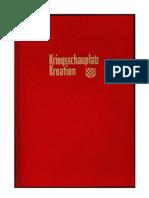 Franz Schraml - Kriegsschauplatz Kroatien