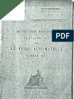 RSC Mle 1917 manual