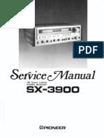 pioneer sx-3900 service manual
