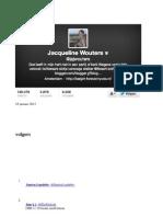 Volgerslijst Jacqueline Wouters