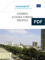 Lusaka Urban Profile