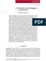 87027218 Heidegger s Descartes