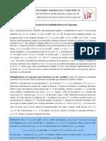 Aplicaciones de la derivación parcial.