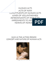 man as the acting person