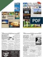 "Kuta Weekly-Edition 321 ""Bali""s Premier Weekly Newspaper"""