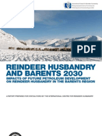 Reindeer Husbandry and Barents 2030