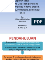 Trauma Okuli Fadlan