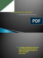Porta Folio Docent e