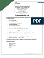 Estadistica Descriptiva Distribucion de Frecuencias