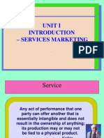 service marketing unit 1