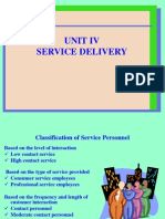 service marketing unit 4