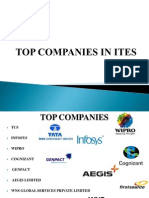 Top companies in ITES