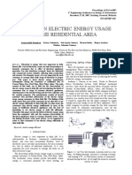 A study of Elecrtric Energy usage