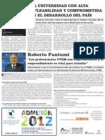 Empleabilidad UTEM y Entrevista Roberto Fantuzzi