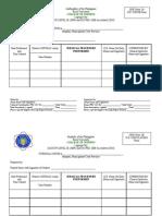PRC Forms Bicol University COllege of Nursing, Legazpi City