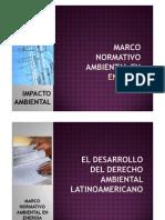 SEM N° 05 Y 06 Marco Normativo Ambiental en Energia