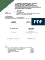 Lembar Persetujuan Judul Skripsi