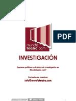 Carlos Alonso Callero - Jan Fabre - El Poder de La Locura Teatral