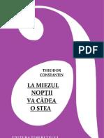 Constantin, Theodor - La Miezul Noptii Va Cadea o Stea