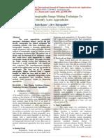 Efficient Sonographic Image Mining Technique To Identify Acute Appendicitis