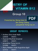 STK1113 Group 10 - Chemistry of Vitamin B12