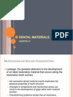 Chapter 16 Dental Materials (Dmd3d)