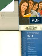 Prospecto UNFV 2013