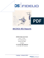 Micros RES Reports