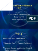 Lead the Online Revolution in CTE