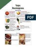 Dieta de La Sopa Quemagrasas