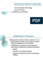 FOUNDRY AND CASTING OPERATION PPT
