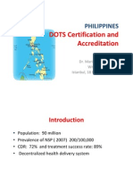 dots CERTIFICATION AND ACCREDITATION