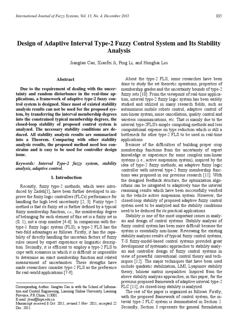 Soliton Ieee Transaction Cybernetics Control Theory