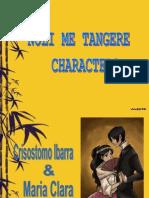 Noli Me Tangere Characters