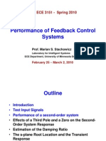 Performance of Feedback Control Systems (Stachowicz, 2010)