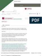Article I | U.S. Constitution | LII