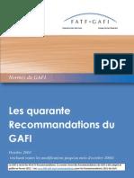 FATF Standards - Quarante Recommandations Rc