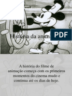 História da Animação - Margarida Silva