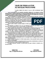 Prim Ajutor Electrocutare