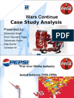 cola wars continue coke and pepsi in 2010 case analysis