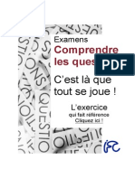 Comprendre les questions… EXERCICES