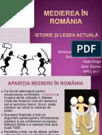 Medierea in Romania