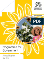 Wales Programme for Government Summary