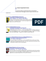 Interesting HR Perspectives - Selected Google eBook Previews