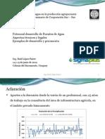 Fuentes de agua en Uruguay - Estado y perspectivas - RAUL LOPEZ PAIRET