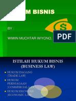Materi Hukum Bisnis