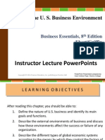 Chapter 1 The U.S Business Environment