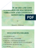 A Review of ISO and ANSI standards on Machinery Vibration and Condition Monitoring