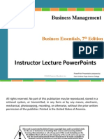 Chapter 5 Business Management